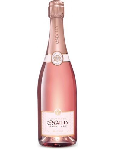 Brut Rosé - Grand Cru - Champagne Mailly - Chai N°5