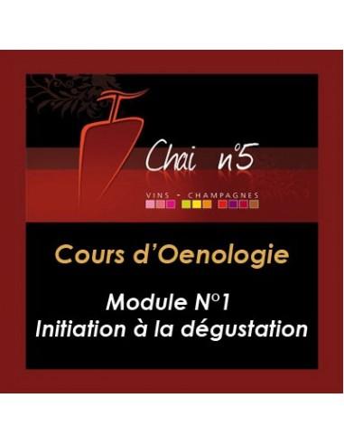 Cours d'Oenologie n°1 : Iniation à la dégustation - Chai N°5