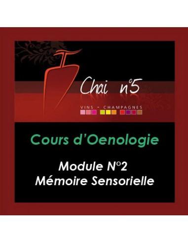 Cours d'Oenologie n°2 : Mémoire Sensorielle - Chai N°5