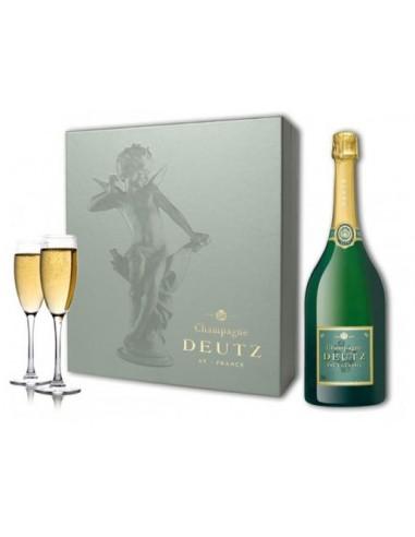 Coffret Champagne Brut + 2 Coupes - Deutz - Chai N°5
