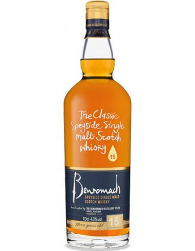 15 ans - Single Malt - Benromach - Chai N°5