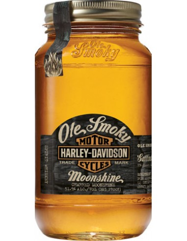 Whisky Ole Smoky Harley-Davidson - Charred Moonshine - Chai N°5