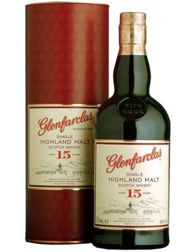 Single Malt - 15 ans - Glenfarclas - Chai N°5