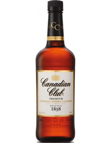 Whisky Canadian Club Blended Original 1858 - Chai N°5