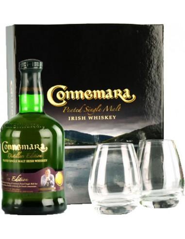 Coffret + 2 Verres - Distillers Edition - Connemara - Chai N°5