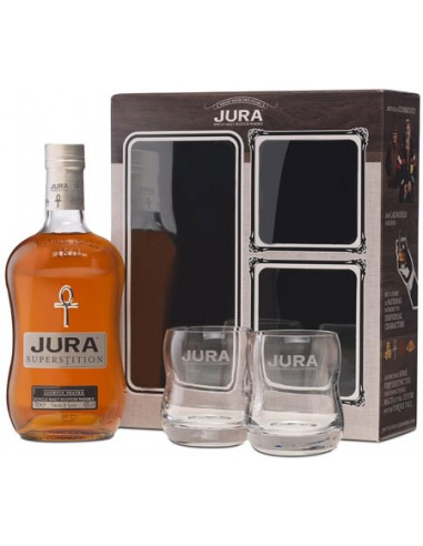 Coffret + 2 Verres - Superstition - Jura - Chai N°5