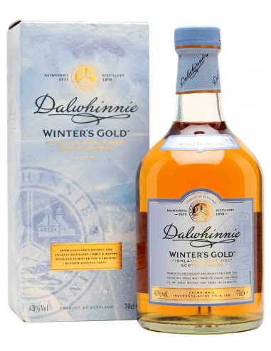 Coffret + 2 Verres - Winter's Gold - Dalwhinnie - Chai N°5