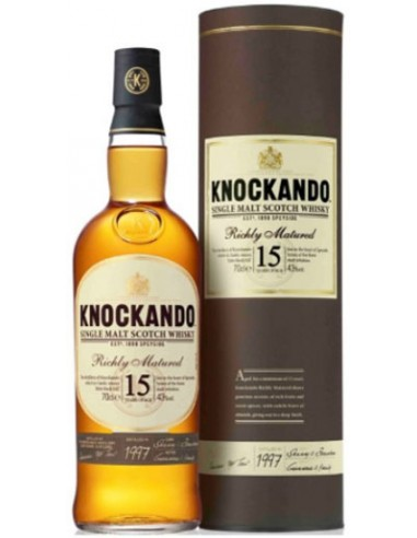 15 ans - Richly Matured - Knockando - Chai N°5