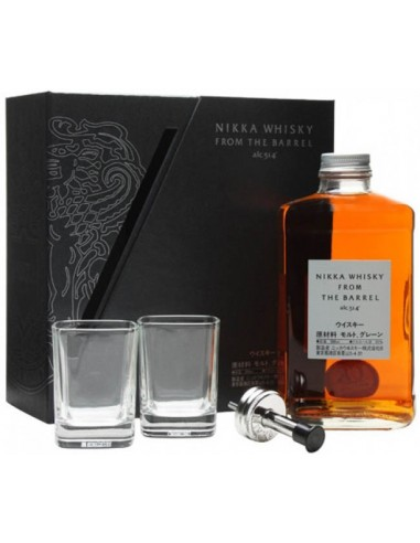 Coffret Nikka From the Barrel + 2 Verres - Chai N°5