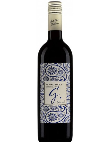 Vin Nero d'Avola 2018 - Giacondi - Chai N°5