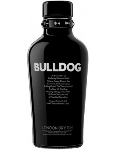 Bulldog London Dry Gin - Chai N°5