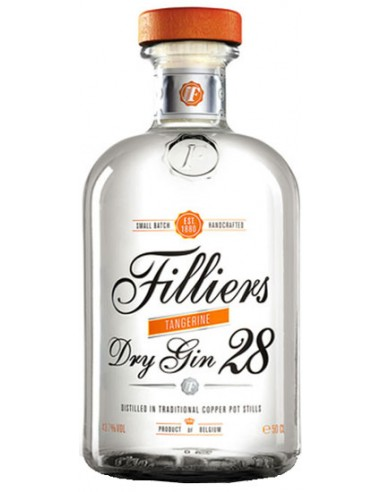 Filliers Dry Gin 28 Tangerine - Chai N°5
