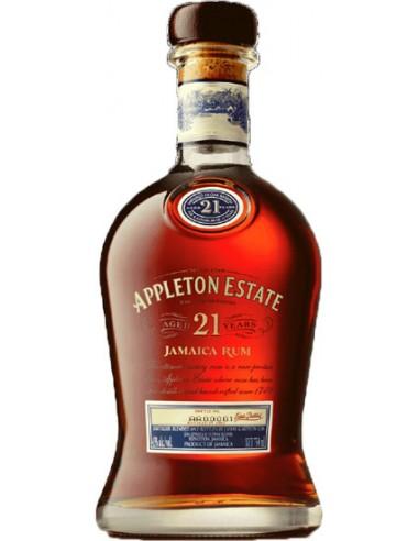 Rhum Appleton Estate 21 ans - Chai N°5