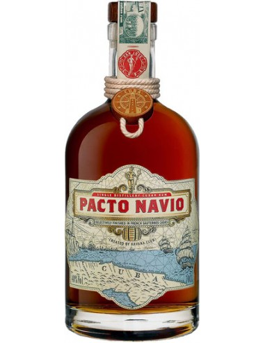 Rhum Pacto Navio Havana Club - Chai N°5