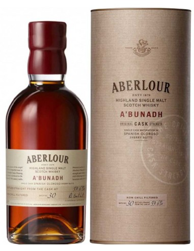 Whisky Aberlour A'Bunadh - Chai N°5