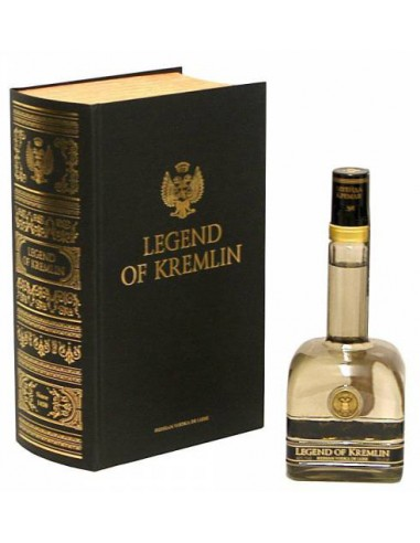 Vodka Légende du Kremlin en Coffret