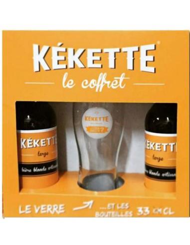 Coffret Kékette - 2 Blondes + 1 Verre - Chai N°5