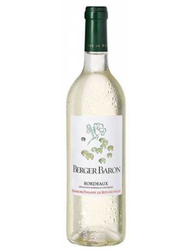Vin Berger Baron Blanc 2016 - Baron Philippe de Rothschild - Chai N°5