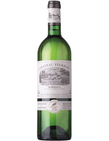 Vin Château Pierrail Blanc 2016 - Chai N°5
