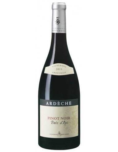 Vin Pinot Noir Buis d'Aps 2018 par Les Vignerons Ardéchois - Chai N°5
