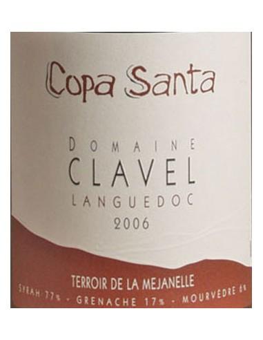 Vin Copa Santa 2006 - Terroir de la Mejanelle - Domaine Clavel - Chai N°5