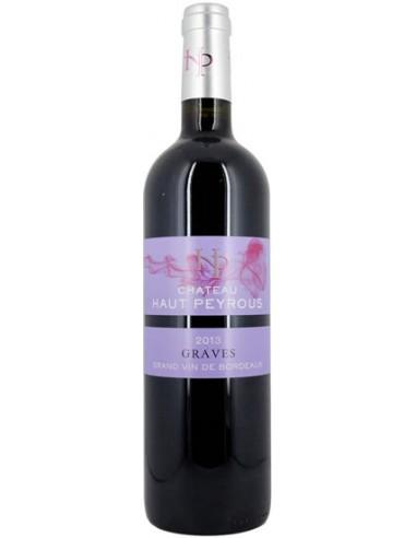 Vin L'Epicurien 2015 Graves - Château Haut Peyrous - Chai N°5