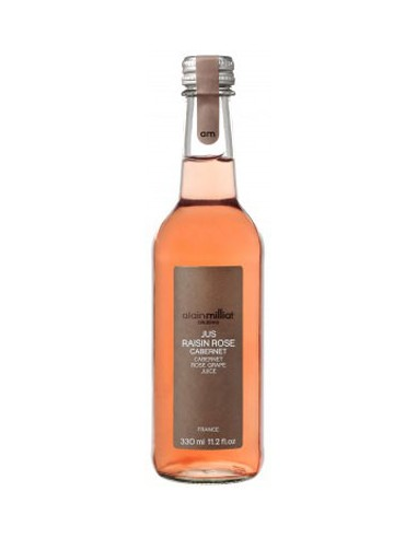 Jus de Raisin Rosé Cabernet 33 cl - Alain Milliat - Chai N°5