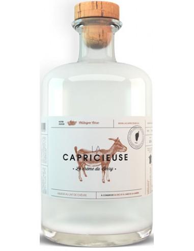 Liqueur au Lait de Chèvre Saveur Châtaigne Corse - La Capricieuse - Chai N°5