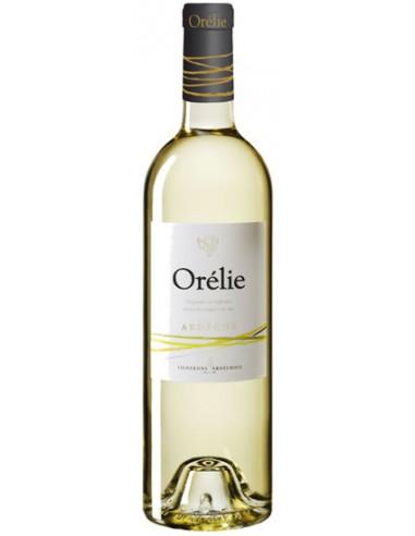 Vin Orélie Blanc 2018 - Les Vignerons Ardéchois - Chai N°5