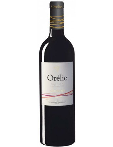 Vin Orélie Rouge 2019 - Les Vignerons Ardéchois - Chai N°5