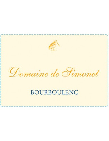 Domaine de Simonet Bouboulenc 2015 - Christophe Barbier - Chai N°5