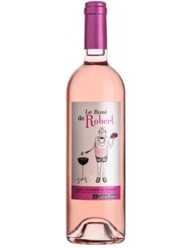 Vin Le Rosé de Robert 2019 du Vignobles des 3 Châteaux - Chai N°5