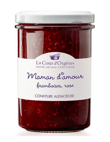 Maman d'Amour, Confiture de Framboise - La Cour d'Orgères