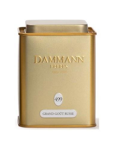 Thé Noir parfumé Grand Goût Russe - Dammann - Chai N°5