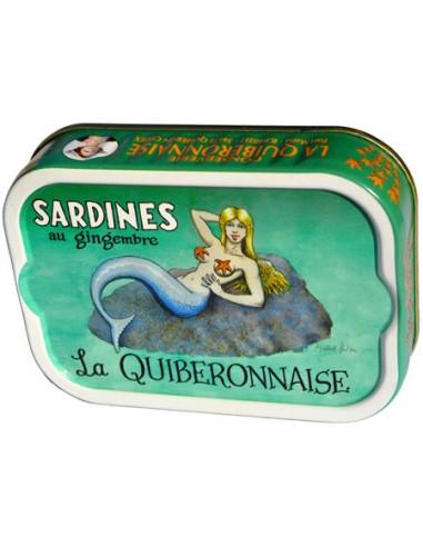 Sardines au Gingembre 2015 - La Quiberonnaise - Chai N°5