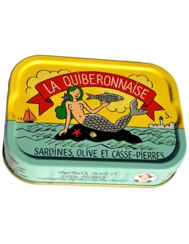 Sardines, Olive et Casse-Pierres 2015 - La Quiberonnaise - Chai N°5