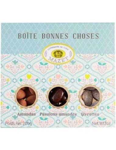 Boite des Bonnes Choses Spécialités Amandes - Mazet - Chai N°5