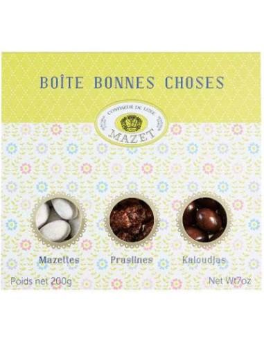 Boite des Bonnes Choses Spécialités Amandes & Pralines - Mazet - Chai N°5
