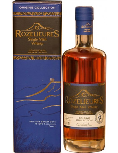 Whisky Rozelieures Origine Collection - Distillerie Grallet Dupic - Chai N°5
