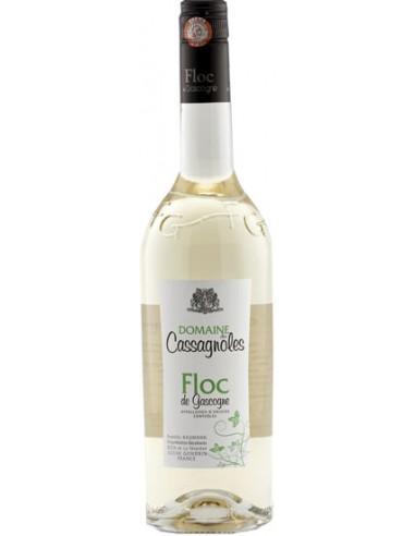 Floc de Gascgogne Blanc - Domaine des Cassagnoles - Chai N°5