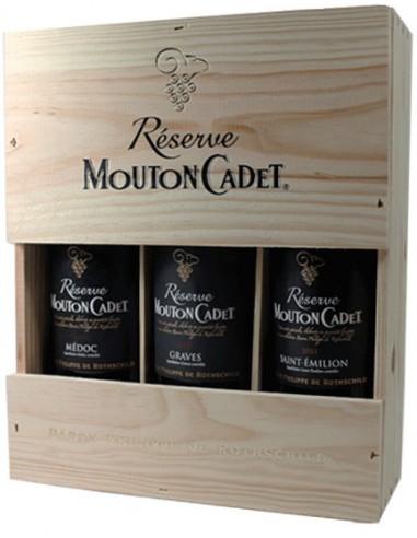 Caisse Bois Mouton Cadet Réserve 2015 - Baron Philippe de Rotschild - Chai N°5