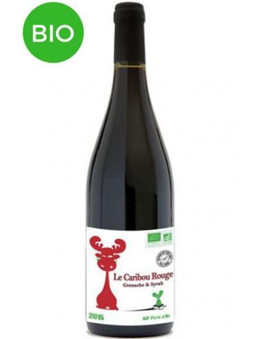 Vin Bio Le Caribou Rouge 2015 - Maison Jean Pla - Chai N°5
