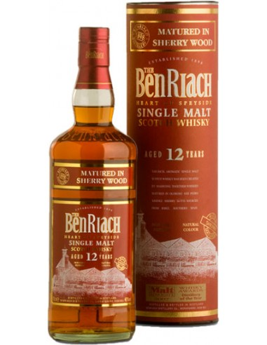 Whisky Benriach 12 ans Sheery Wood - Chai N°5