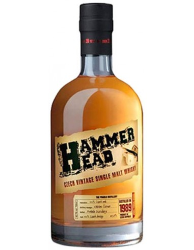 Whisky Hammer Head 23 ans Single Malt - Chai N°5