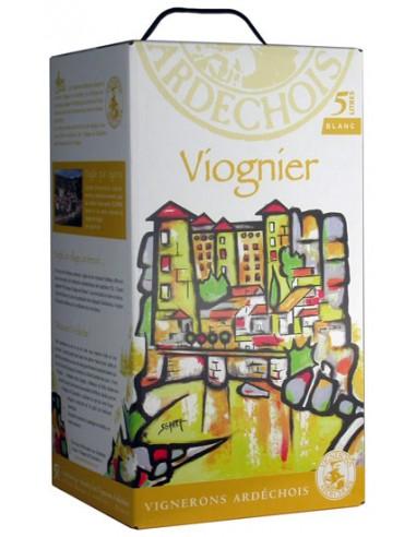 Bib Viognier 5 L - Les Vignerons Ardéchois - Chai N°5