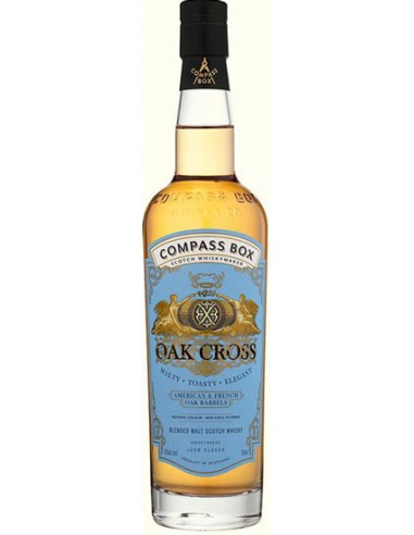 Whisky Compass Box Oak Cross - Chai N°5