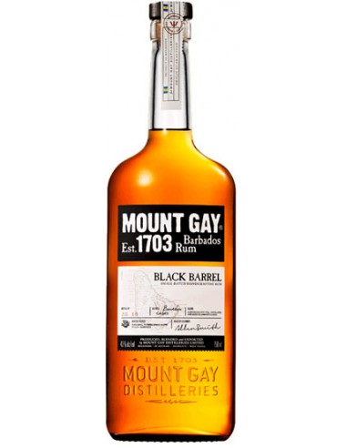 Rhum Mount Gay Black Barrel - Chai N°5