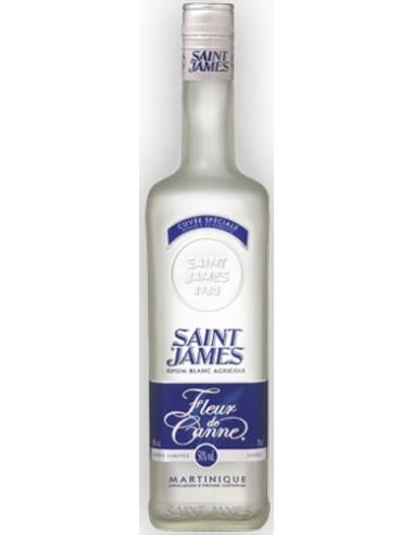 Rhum Blanc Agricole Fleur de Canne - Saint James - Chai N°5