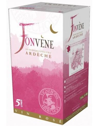 Bib Fonvène Rosé 5 L - Les Vignerons Ardéchois - Chai N°5