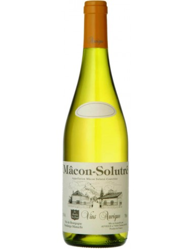 Vin Mâcon-Solutré Moulin du Pont 2018 - Auvigue - Chai N°5